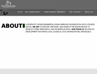 syrian-expatriates.org screenshot