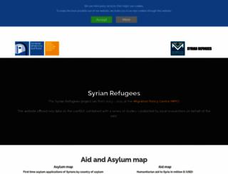 syrianrefugees.eu screenshot