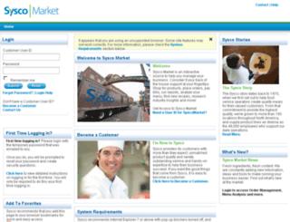 syscomarket.sysco.com screenshot
