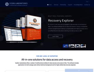 sysdevlabs.com screenshot