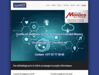 syselio.com screenshot