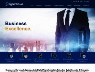 sysinnova.com screenshot