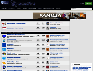 sysnative.com screenshot