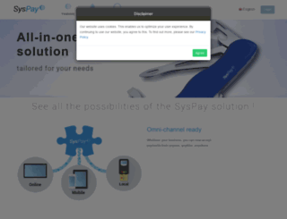 syspay.com screenshot
