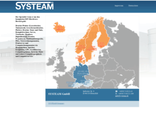 systeam.dk screenshot