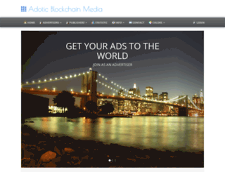 system.adotic.com screenshot