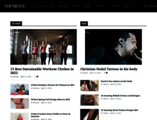 system.themeple.co screenshot