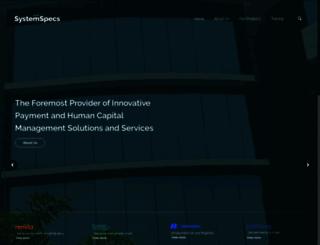 systemspecs.com.ng screenshot