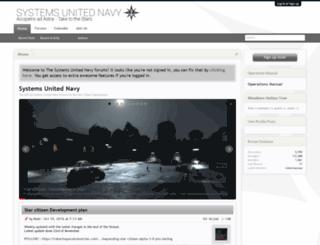 systemsunitednavy.com screenshot