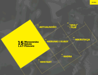 szkolafilmowa.pl screenshot