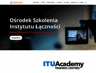 szkolenia.itl.waw.pl screenshot