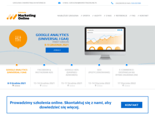 szkolenia.marketingonline.pl screenshot