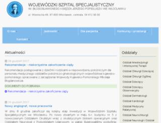 szpital.wloclawek.pl screenshot