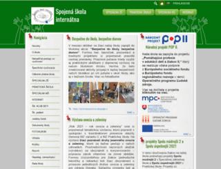 szsimasarykova.edupage.org screenshot
