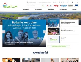 sztum.pl screenshot