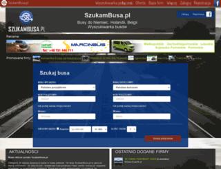 szukambusa.pl screenshot