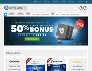 szuperlotto.com screenshot