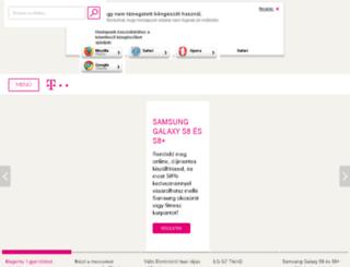 t-mobil.hu screenshot