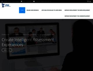 t-phi.co.uk screenshot