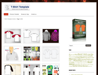 t-shirt-template.com screenshot