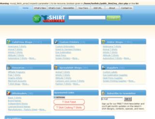 t-shirtlinks.com screenshot