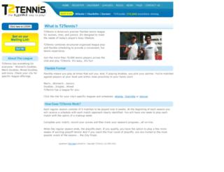 t2tennis.com screenshot