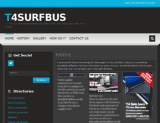t4surfbus.co.uk screenshot
