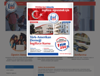 taa-adana.org.tr screenshot