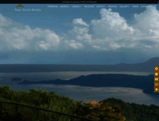taalvistahotel.com screenshot