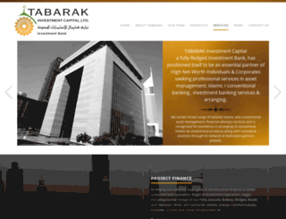 tabarak.ae screenshot