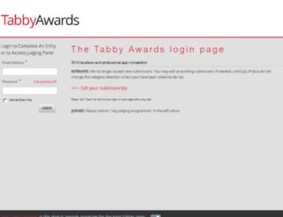 tabbyawards.nonprofitcms.org screenshot