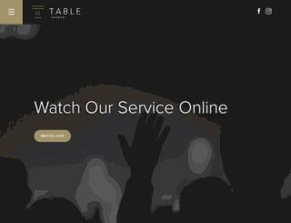 table.org screenshot