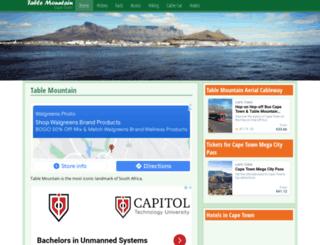 tablemountainnationalpark.org screenshot