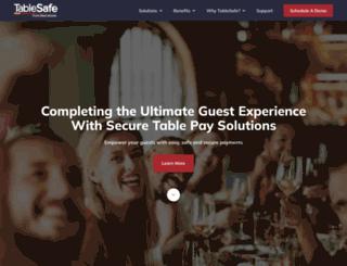 tablesafe.com screenshot
