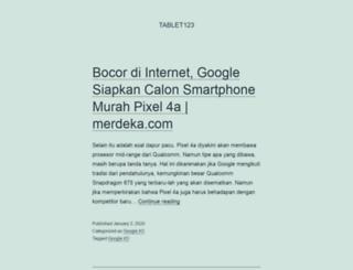 tablet123.com screenshot