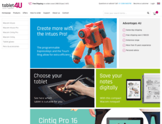 tablet4u.co.uk screenshot