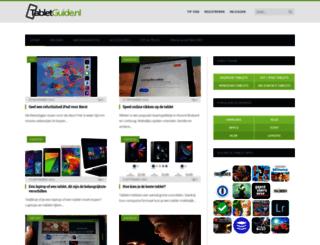 tabletguide.nl screenshot