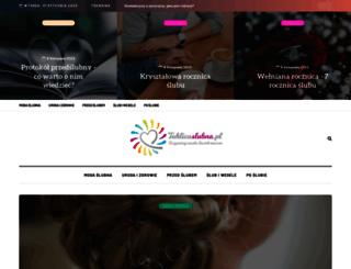 tablicaslubna.pl screenshot