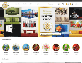 tablomburada.com screenshot