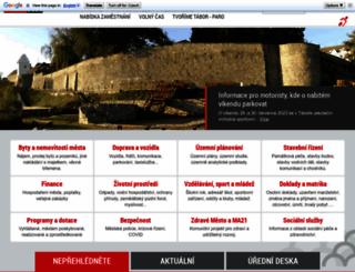 taborcz.eu screenshot