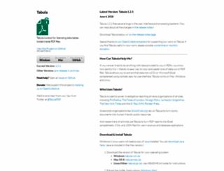 tabula.technology screenshot