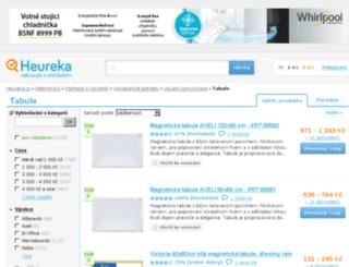 tabule.heureka.cz screenshot