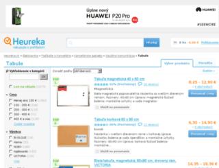 tabule.heureka.sk screenshot