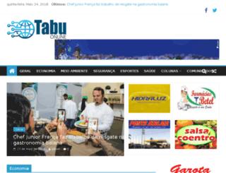 tabuonline.com.br screenshot