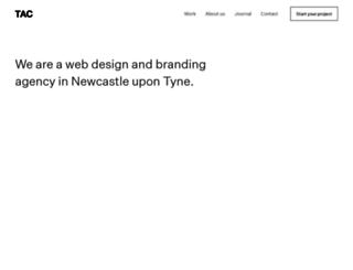 tac-design.co.uk screenshot