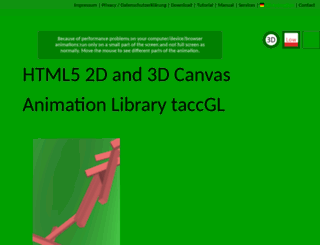 taccgl.org screenshot