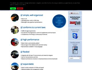 tachoplus.com screenshot