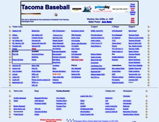 tacomabaseball.com screenshot