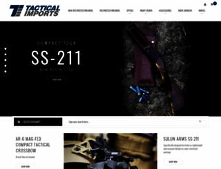 tacticalimports.ca screenshot
