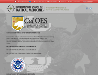 tacticalmedicine.com screenshot